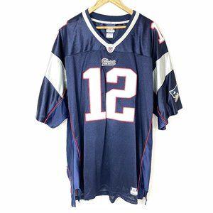 Tom Brady Jersey 12 New England Patriots NFL 2XL